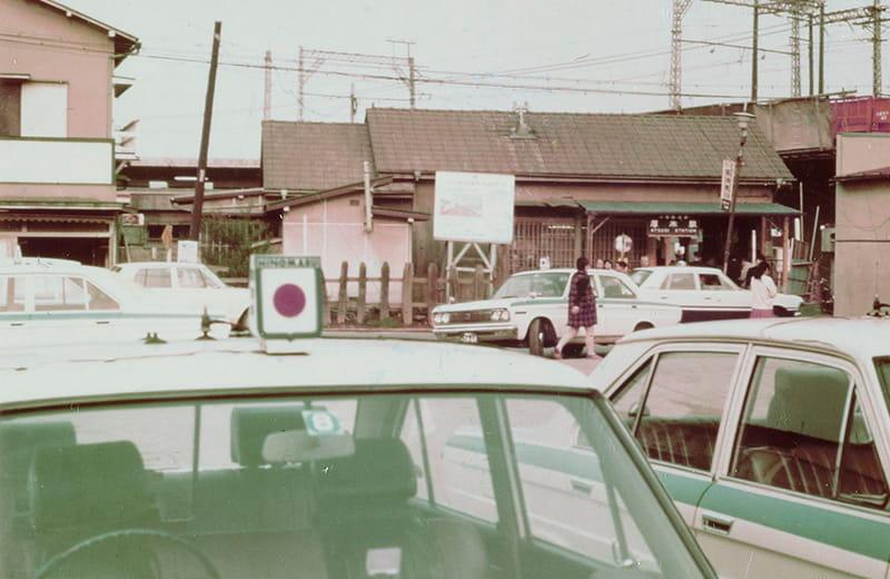 河原口駅前タクシー乗り場